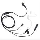 Three Wire Acoustic Tube Earpiece Mic PTT for Hytera HYT