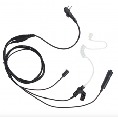 Covert Acoustic Tube Earpiece Mic PTT for Hytera HYT