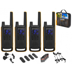 Motorola Walkie Talkie T82 Extreme - Quad Pack