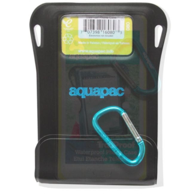 Aquapac TrailProof Phone Case Black